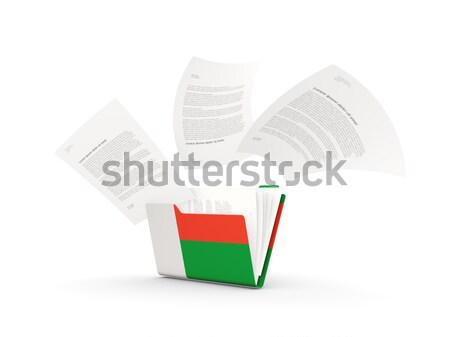 3d flag of Belarus Stock photo © MikhailMishchenko