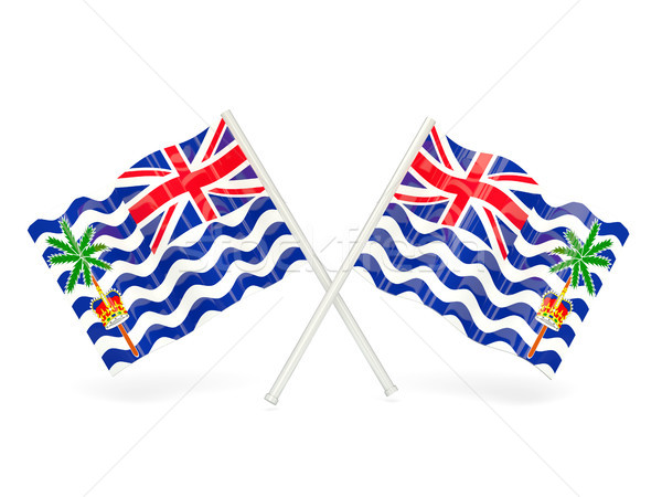 Flag of british indian ocean territory Stock photo © MikhailMishchenko