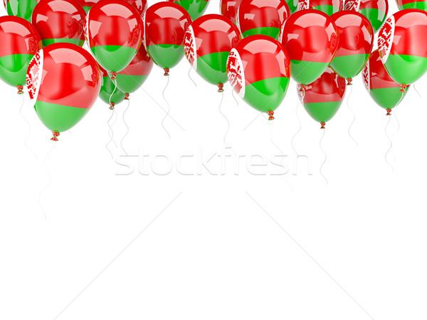 Balloon frame with flag of belarus Stock photo © MikhailMishchenko