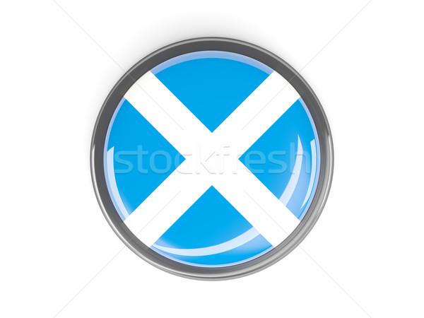 ボタン フラグ スコットランド 金属 フレーム 旅行 ストックフォト © MikhailMishchenko