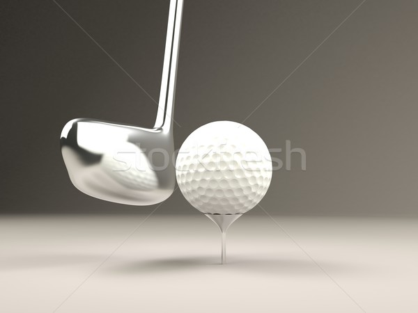 Golf ball Stock photo © MikhailMishchenko
