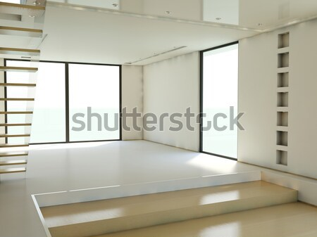 Empty apartment Stock photo © MikhailMishchenko