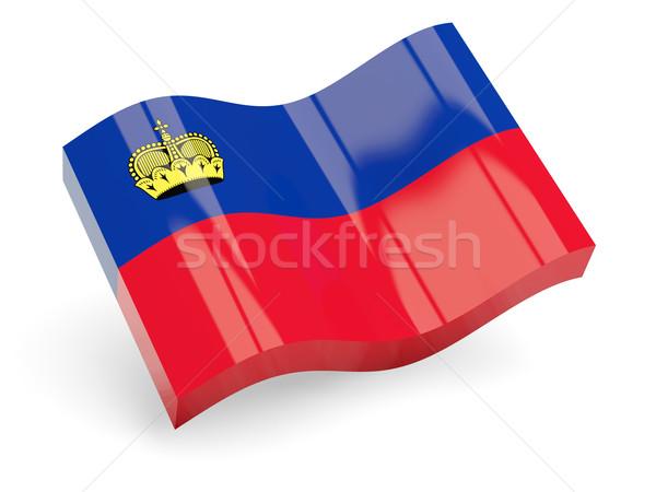 3d flag of liechtenstein Stock photo © MikhailMishchenko