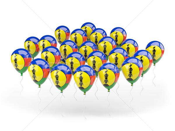 Balloons with flag of new caledonia Stock photo © MikhailMishchenko