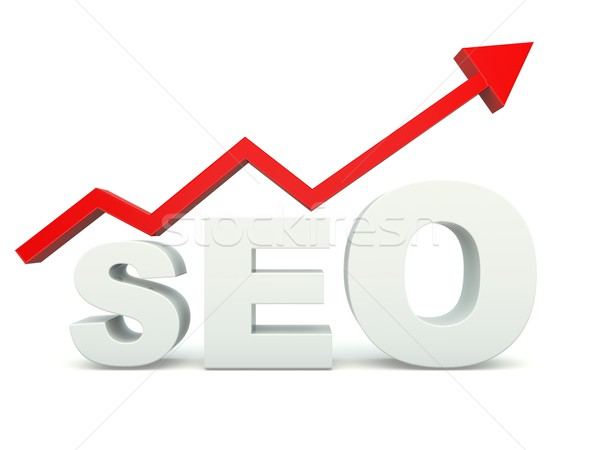 SEO sign with graph Stock photo © MikhailMishchenko