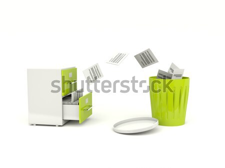 Archive cabinets exchanging files Stock photo © MikhailMishchenko