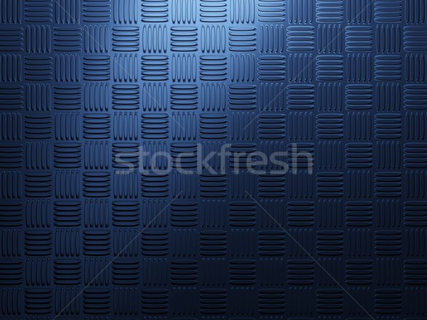 Blue metal background Stock photo © MikhailMishchenko