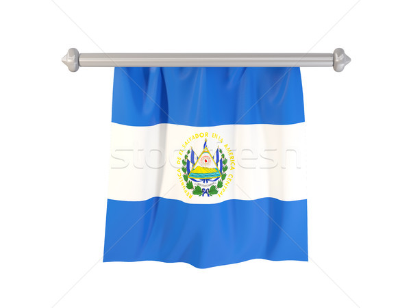 Pennant with flag of el salvador Stock photo © MikhailMishchenko