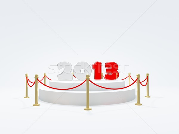 2013 New Year symbol Stock photo © MikhailMishchenko