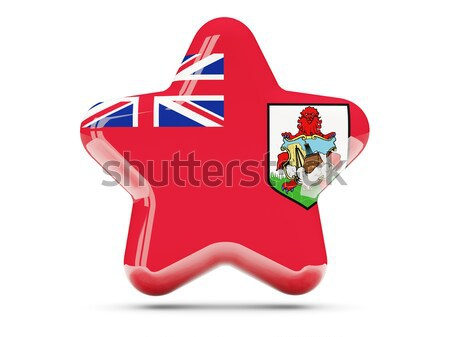 Flag of bermuda Stock photo © MikhailMishchenko
