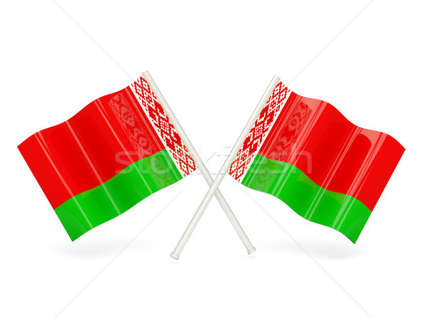 Flag of belarus Stock photo © MikhailMishchenko