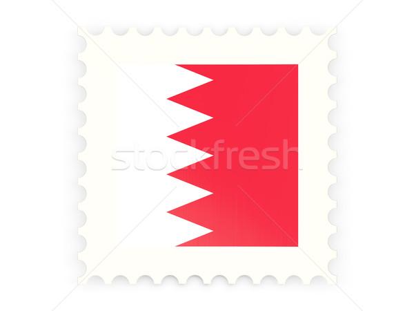 Postabélyeg ikon Bahrein izolált fehér posta Stock fotó © MikhailMishchenko