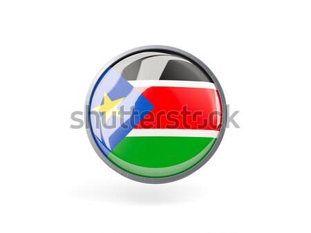 Ikon bayrak Namibya Metal çerçeve seyahat Stok fotoğraf © MikhailMishchenko