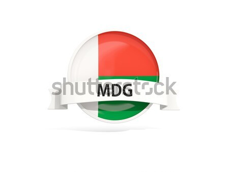 Round flag of malawi with circles pattern Stock photo © MikhailMishchenko