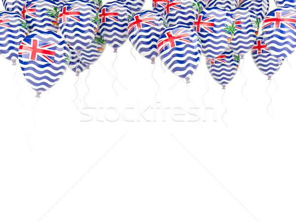 Balloon frame with flag of british indian ocean territory Stock photo © MikhailMishchenko