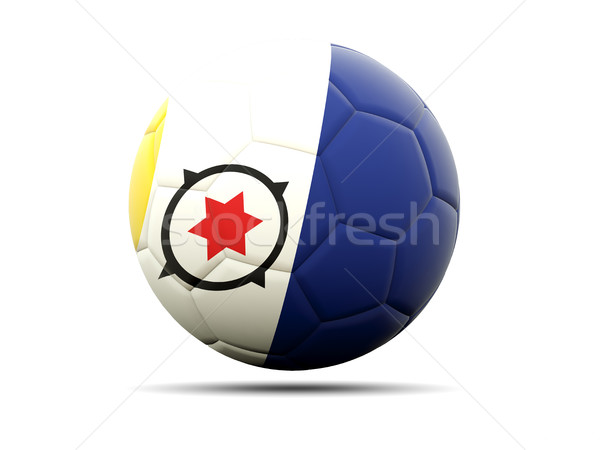 Football with flag of bonaire Stock photo © MikhailMishchenko