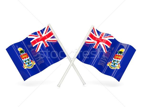Flag of cayman islands Stock photo © MikhailMishchenko
