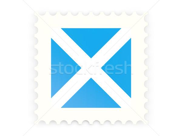 Ikon İskoçya yalıtılmış beyaz imzalamak Stok fotoğraf © MikhailMishchenko