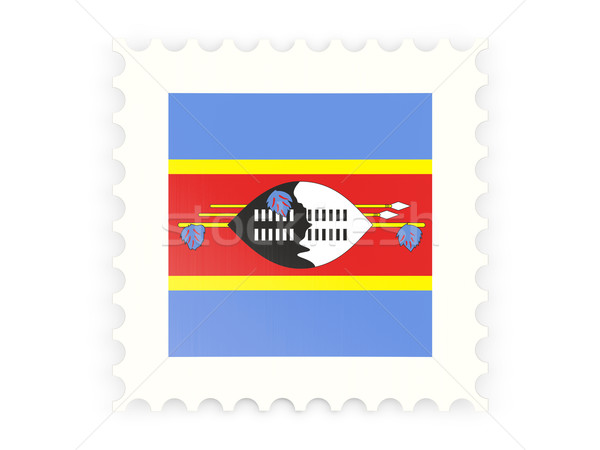 Postage stamp icon of swaziland Stock photo © MikhailMishchenko