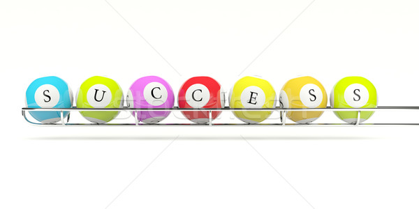 Lottery balls Stock photo © MikhailMishchenko