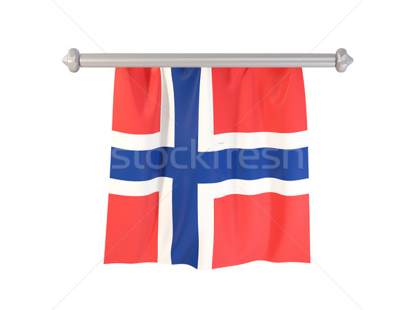 Pennant with flag of norway Stock photo © MikhailMishchenko