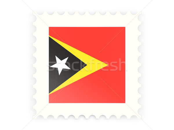 Postage stamp icon of east timor Stock photo © MikhailMishchenko