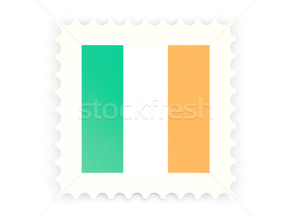 Postage stamp icon of ireland Stock photo © MikhailMishchenko