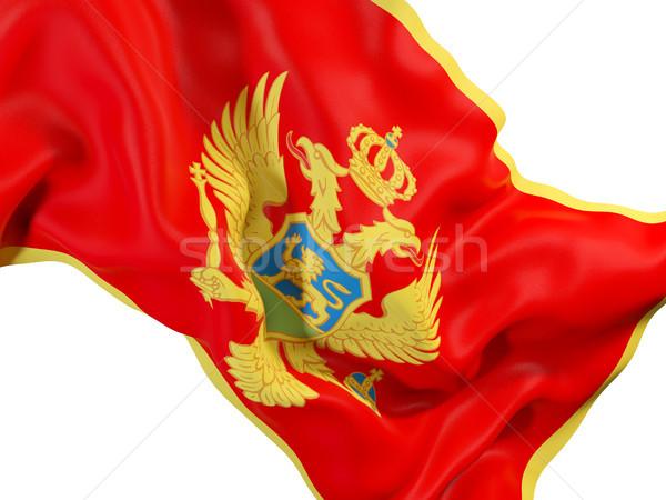 Сток-фото: флаг · Черногория · 3d · иллюстрации · путешествия