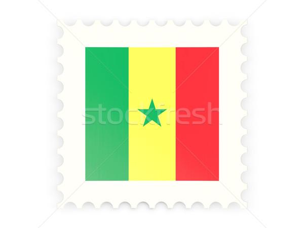 Postage stamp icon of senegal Stock photo © MikhailMishchenko