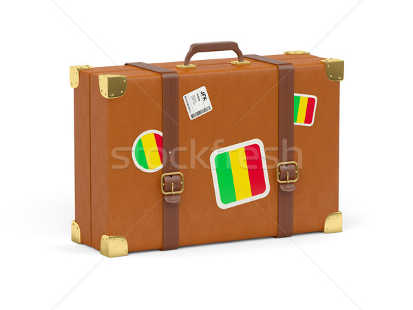Suitcase with flag of mali Stock photo © MikhailMishchenko