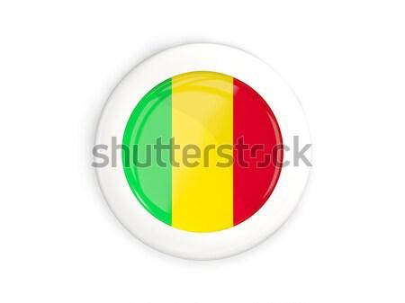 наклейку флаг Мали изолированный белый путешествия Сток-фото © MikhailMishchenko
