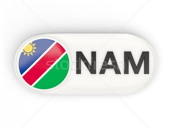 икона флаг Намибия iso Код стране Сток-фото © MikhailMishchenko