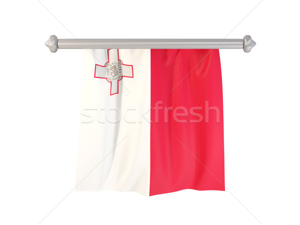 Pennant with flag of malta Stock photo © MikhailMishchenko