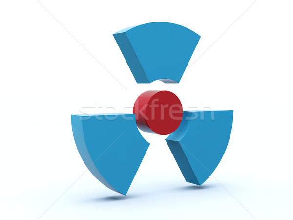 Stock photo: Radiation icon