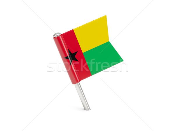 Flag pin of guinea bissau Stock photo © MikhailMishchenko