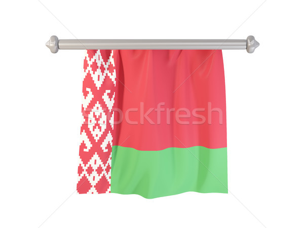 Pennant with flag of belarus Stock photo © MikhailMishchenko