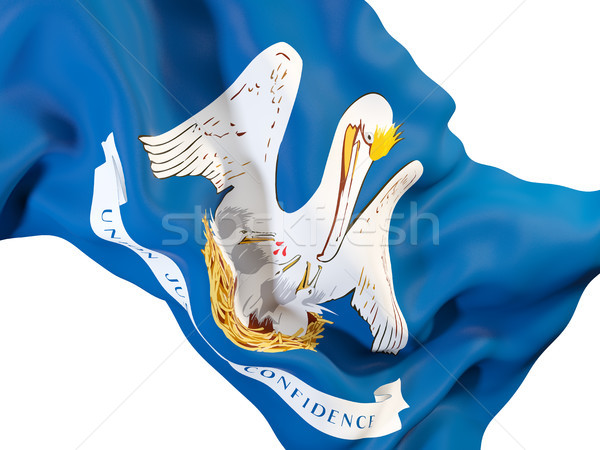 Louisiana bandiera Stati Uniti locale bandiere Foto d'archivio © MikhailMishchenko