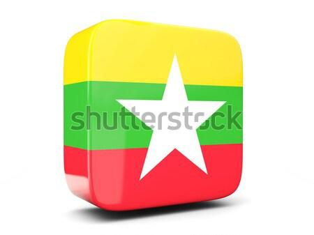 икона флаг Суринам изолированный белый путешествия Сток-фото © MikhailMishchenko