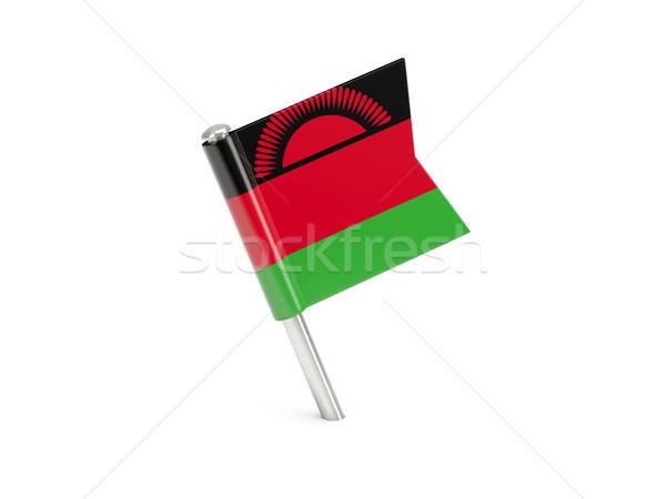 флаг Pin Малави изолированный белый Сток-фото © MikhailMishchenko