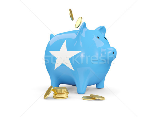 脂肪 貯金 ソマリア お金 孤立した 白 ストックフォト © MikhailMishchenko