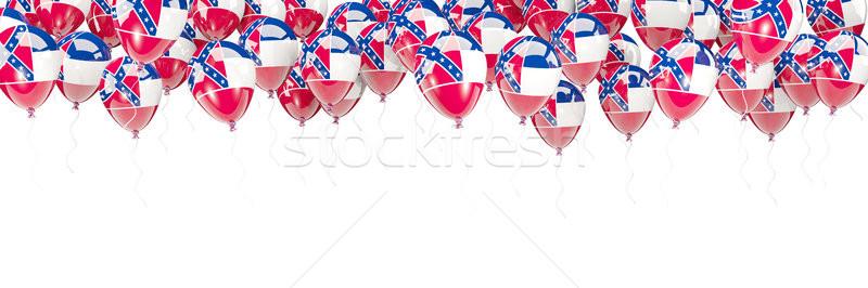 Balonlar çerçeve bayrak Mississipi Amerika Birleşik Devletleri yerel Stok fotoğraf © MikhailMishchenko