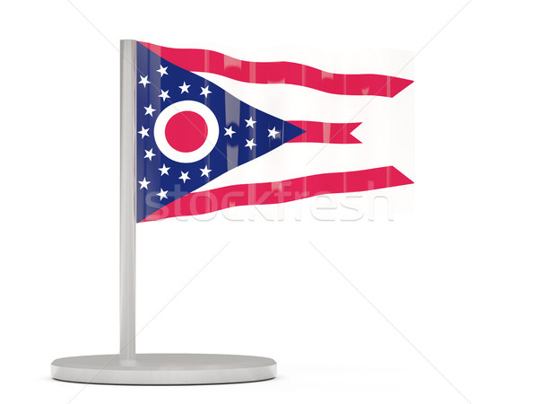Zászló tő Ohio Egyesült Államok helyi zászlók Stock fotó © MikhailMishchenko
