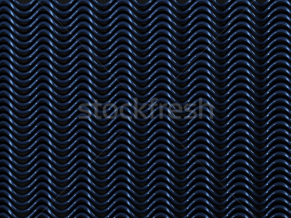 Blue metal background Stock photo © MikhailMishchenko