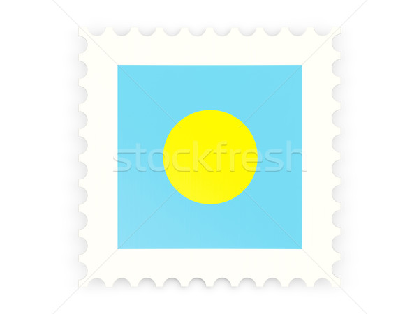 Postage stamp icon of palau Stock photo © MikhailMishchenko
