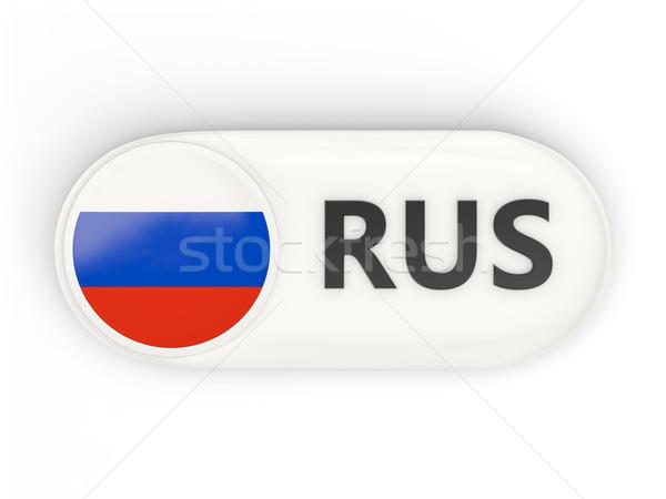 икона флаг Россия iso Код стране Сток-фото © MikhailMishchenko