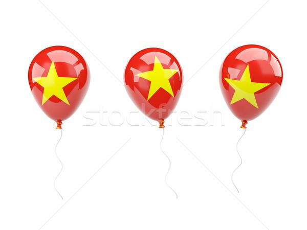 Air balloons with flag of vietnam Stock photo © MikhailMishchenko