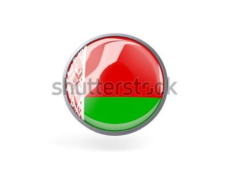 Etiket bayrak Bangladeş yalıtılmış beyaz seyahat Stok fotoğraf © MikhailMishchenko
