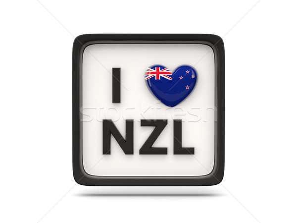 I love new zealand sign Stock photo © MikhailMishchenko