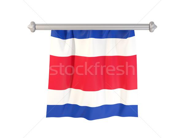 Pennant with flag of costa rica Stock photo © MikhailMishchenko