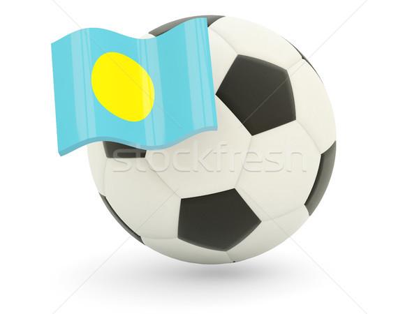 サッカー フラグ パラオ 孤立した 白 スポーツ ストックフォト © MikhailMishchenko